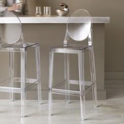 Ghost Chair Bar Stool Salon Dryer Stools Ideas On Foter 2