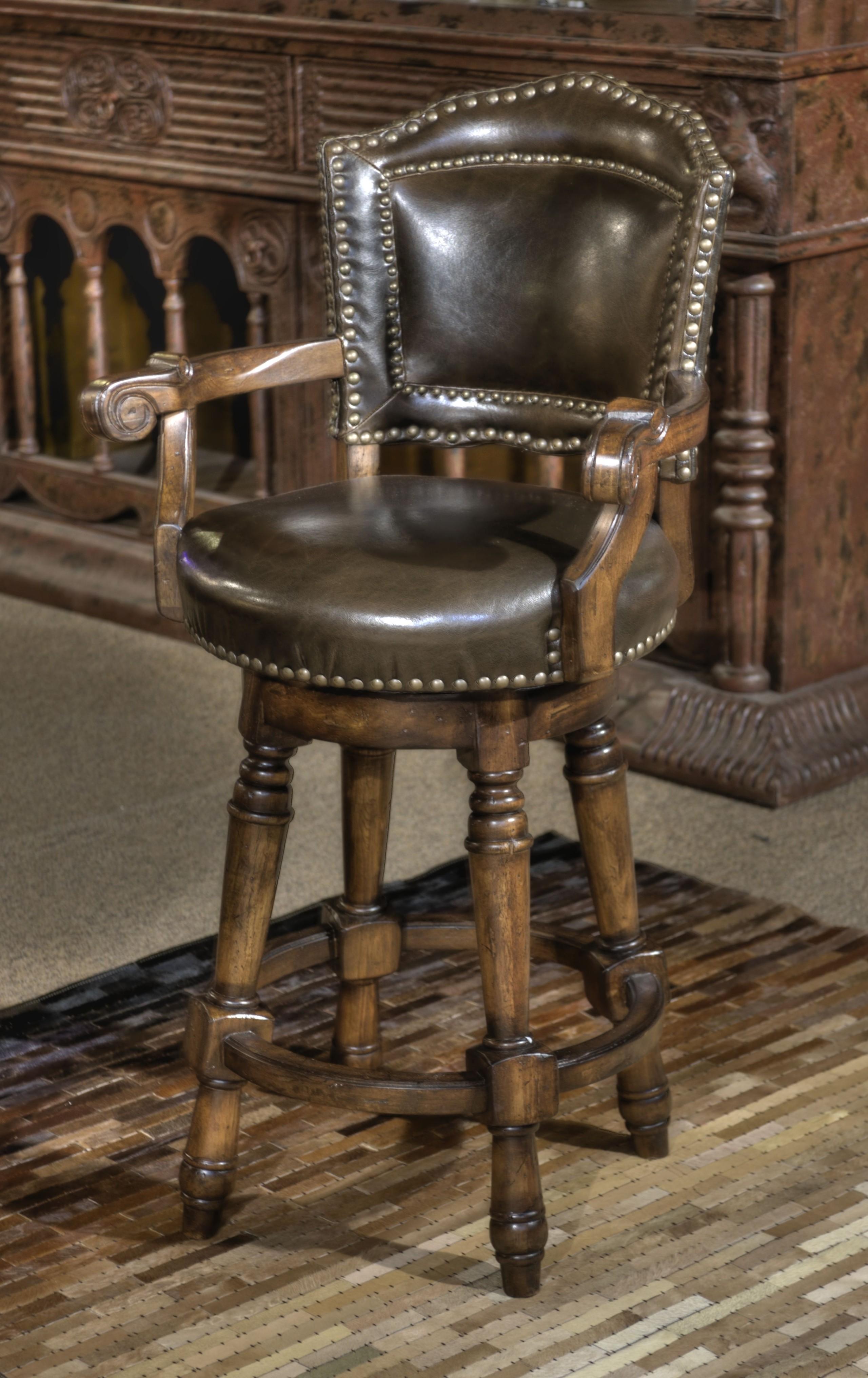 Leather Elegant Bar Stools  Ideas on Foter