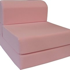 Foam Chair That Turns Into A Bed Lucite Desk With Wheels Sleeper Chairs Ideas On Foter 6 Thick X 36 Wide 70 Long Twin Size Pink