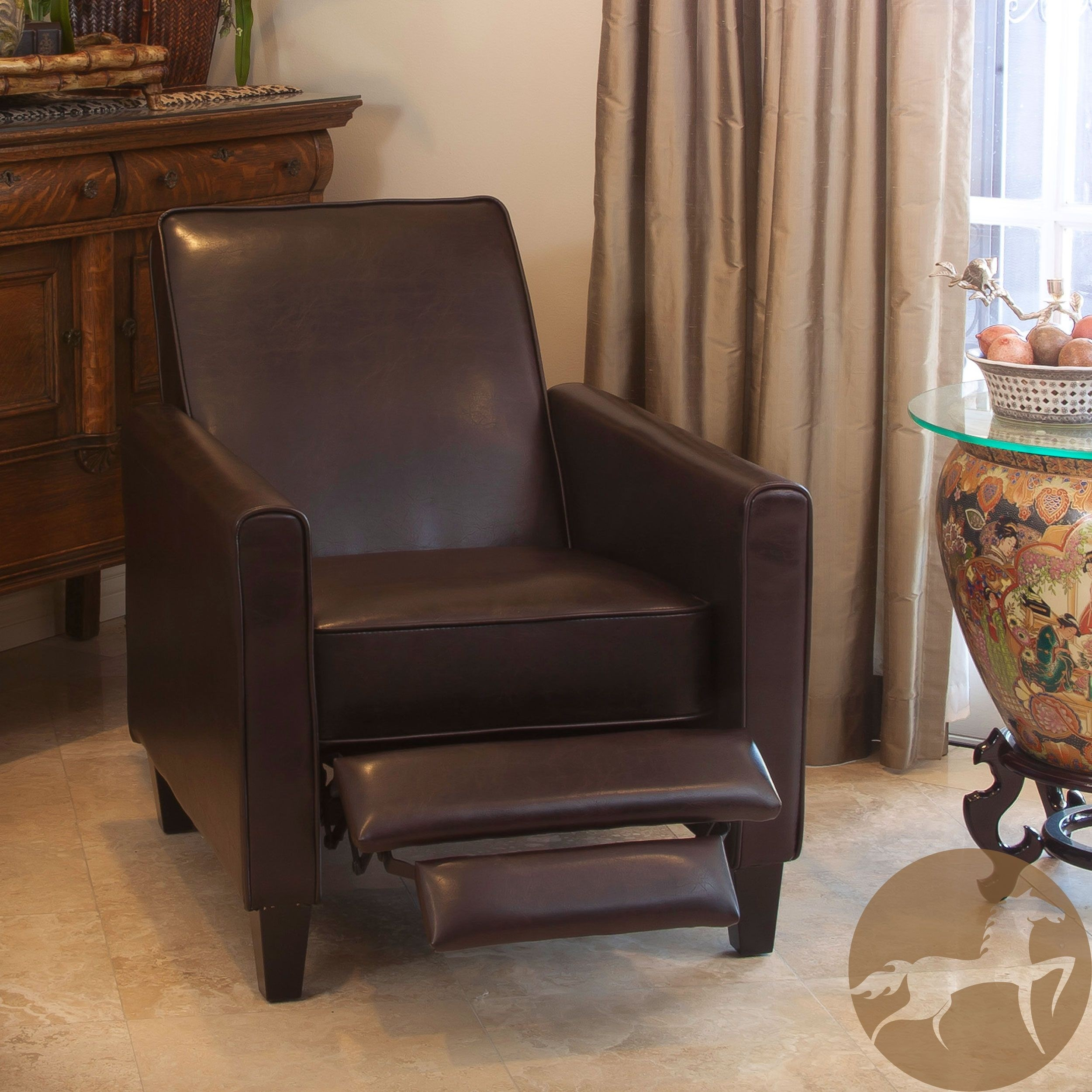 reclining club chair deck covers amazon small space recliner ideas on foter christopher knight home leather 5