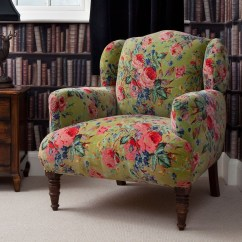 Kitchen Chairs With Wheels Remodeling Honolulu Floral Armchairs - Ideas On Foter