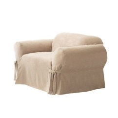 Armchair And Ottoman Slipcover Set Camo Computer Chair Linen Arm Chairs - Foter