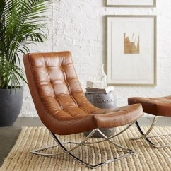 Leather Chair Modern Steel Hanging Chairs Ideas On Foter Grey