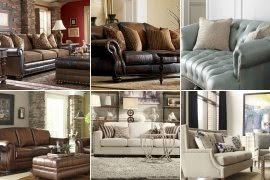 modern twine curved arm sofa decorating with sage green leather sofas nailhead trim ideas on foter
