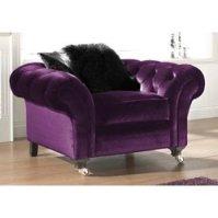 Purple Chaise Lounge Chair