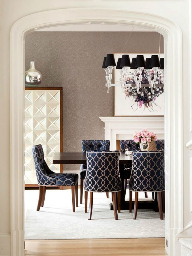 dining chairs fabric extra wide beach chair black ideas on foter