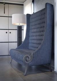 High Back Tufted Sofa - Foter