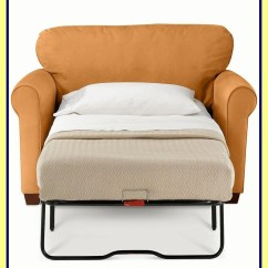 Chair With Pull Out Twin Bed Parsons Chairs Kirklands Sleeper - Foter