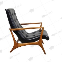 Lounge Chair Leather Svan Signet Complete High Chairs Ideas On Foter Vladimir Kagan Sculptural Walnut 1