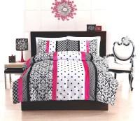 Black And White Polka Dot Comforter Set - Foter