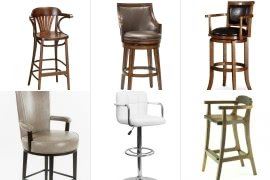bar chairs with arms and backs personalized director chair stools ideas on foter