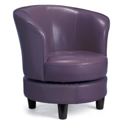 Purple Swivel Chair White Windsor Chairs Ideas On Foter Blue Leather
