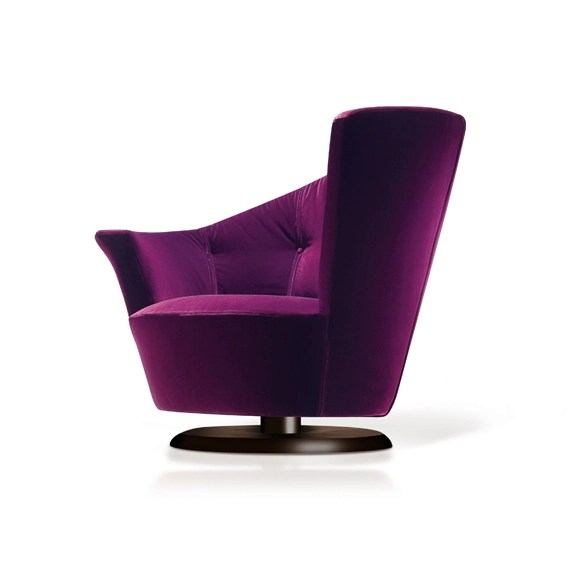 purple swivel chair vintage child rocking chairs ideas on foter the beautiful captivates and brings a unique atmosphere to interior base based magnetic is elegant very