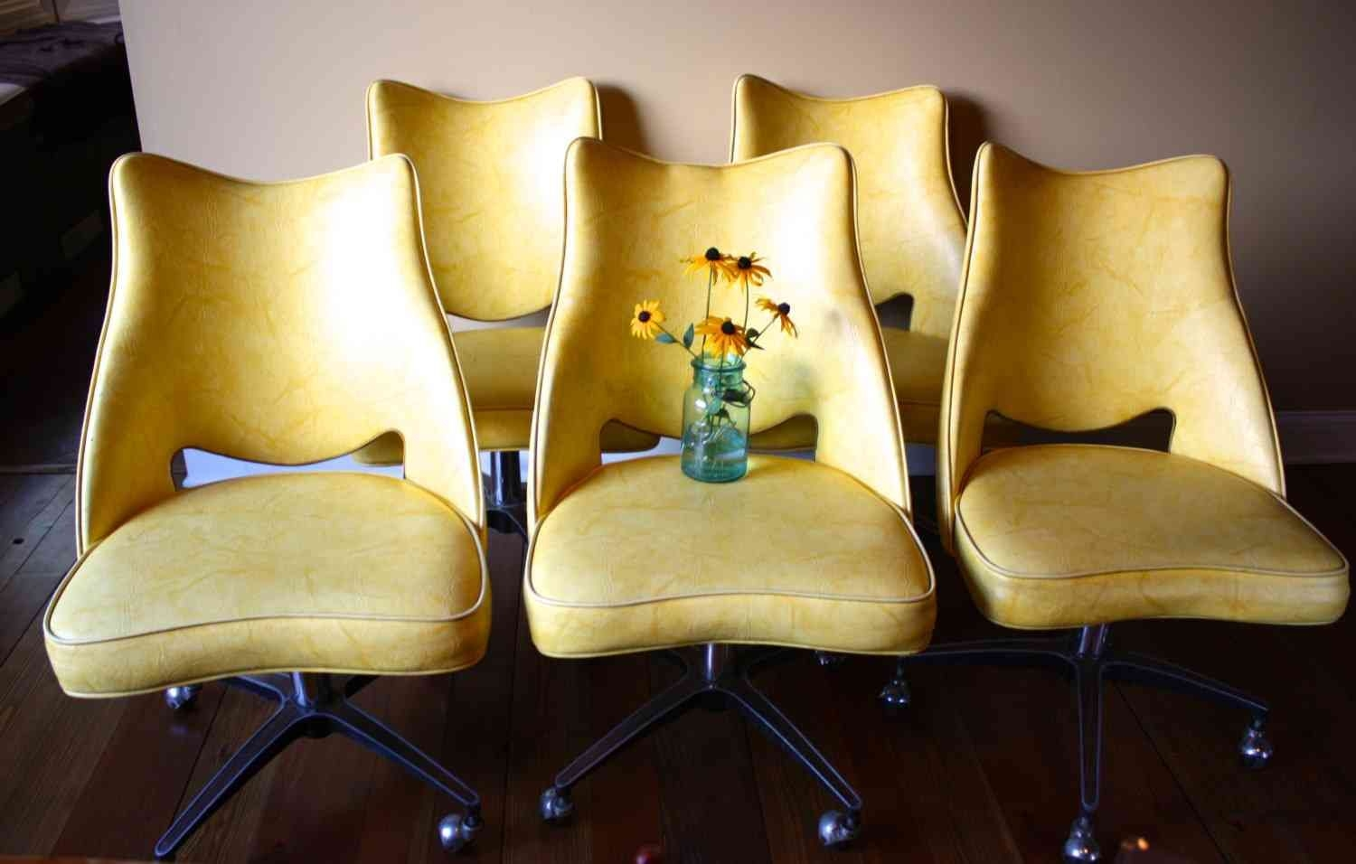 Rolling Dining Chairs