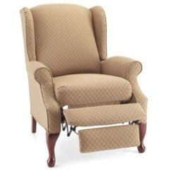 Chair Covers For Wingback Recliners High Back Patio Cushions Uk Wing Ideas On Foter Lazy Boy Recliner Slipcovers