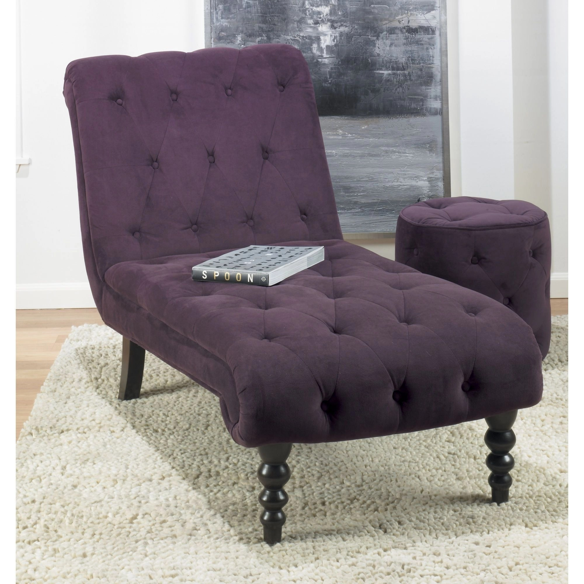 purple chaise lounge chair fishing accessories uk ideas on foter 1
