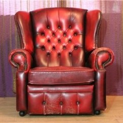 Queen Anne Wingback Chair Leather Contemporary Outdoor Rocking Recliners Ideas On Foter Red Oxblood Chesterfield Wing Back Recliner