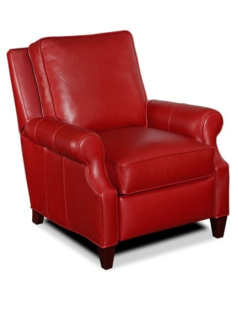 red recliner chairs pibbs pedicure chair leather recliners ideas on foter