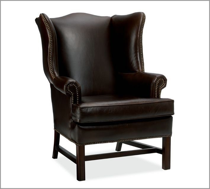 leather wing chairs stool chair design chippendale wingback ideas on foter thatcher