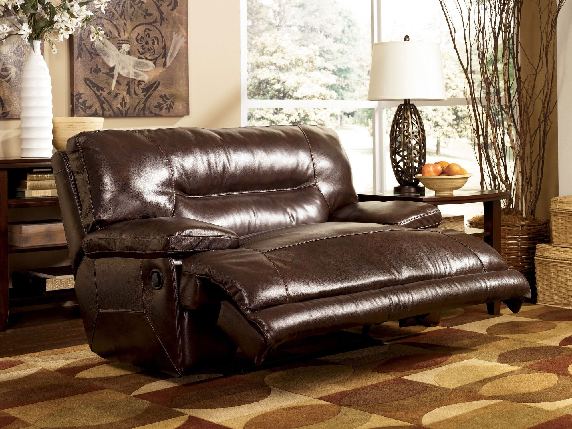 double recliner chairs leather office chair modern seat ideas on foter two person 1
