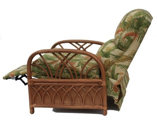 wicker recliner chair shower commode rattan recliners ideas on foter