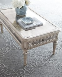 Antique Mirrored Coffee Table - Foter