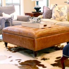 Ottoman Coffee Tables Living Room Table Ideas For Small Leather Tufted On Foter Brown