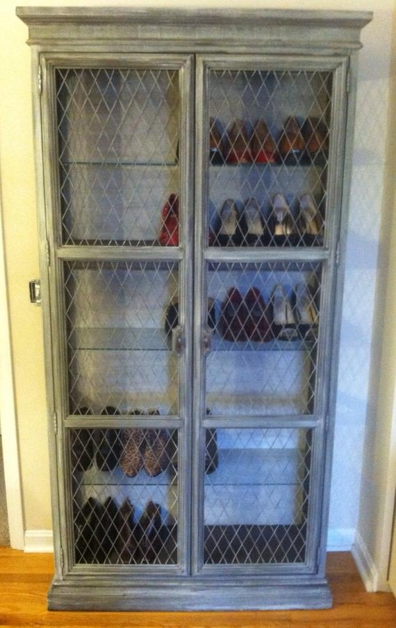 Rustic Curio Cabinets  Foter