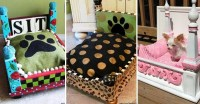 Leopard Print Dog Bed - Foter