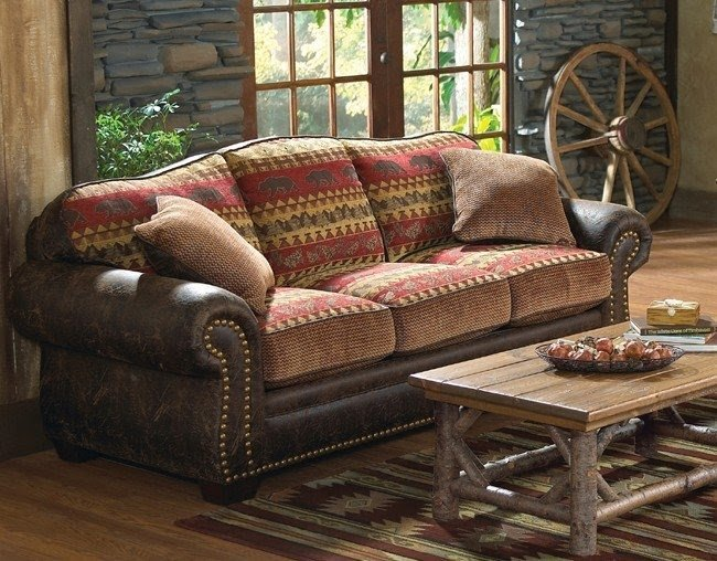 Southwestern Leather Living Room Furniture
