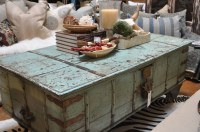 Distressed Trunk Coffee Table - Foter