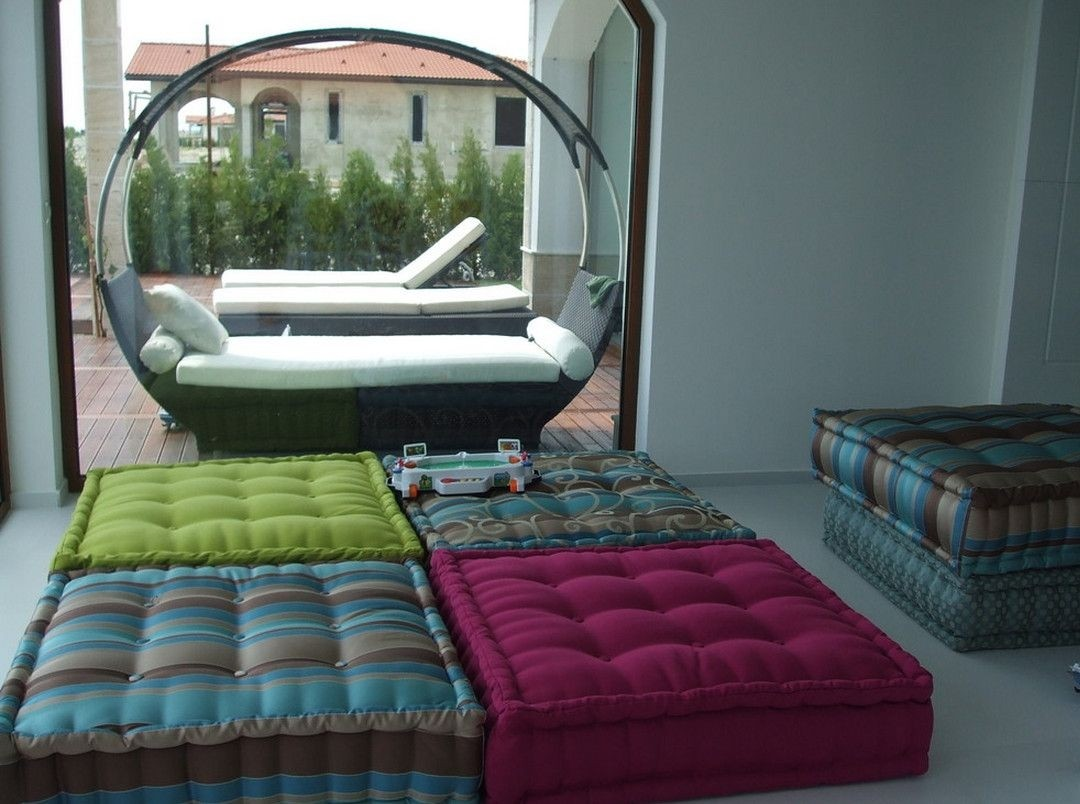 Large Square Floor Cushions  Ideas on Foter