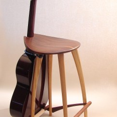 Guitar Shaped Chair King Sugar Land Stools Ideas On Foter Stool Stand 3