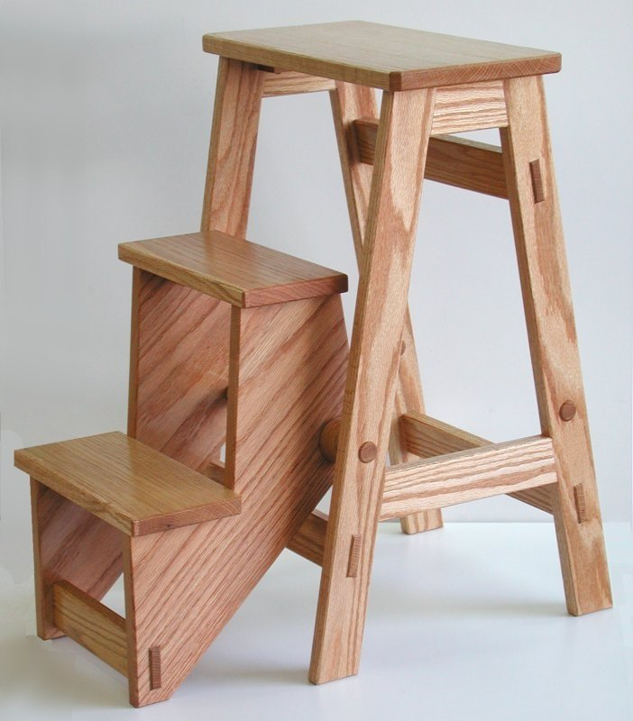 wooden step stool chair replacement casters for office chairs on carpet wood stools ideas foter