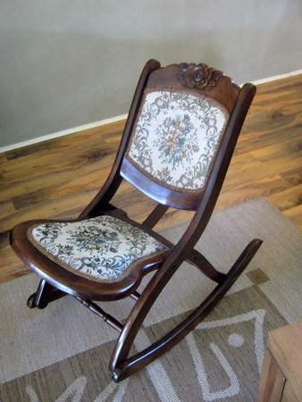 foldable rocking chair covers for sale perth victorian folding chairs ideas on foter antique wood is a bit