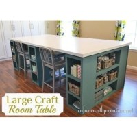 Work Tables With Storage