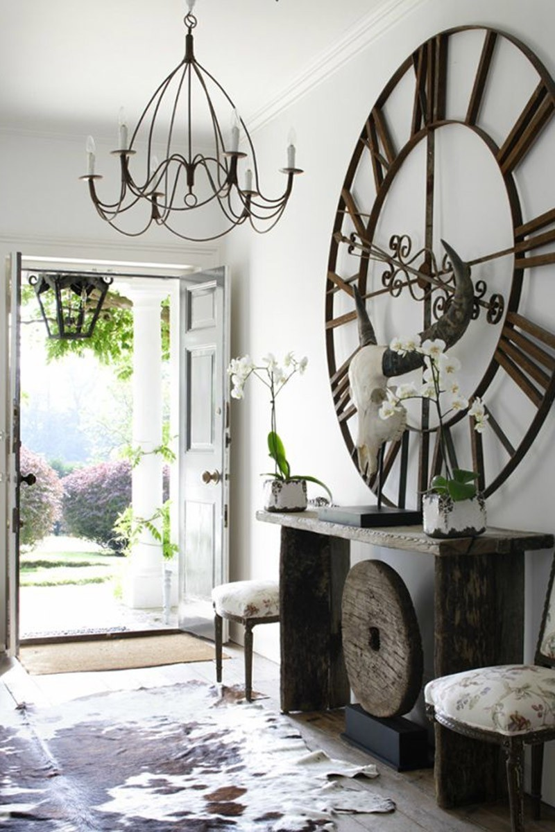 Large Wall Clock Ideas On Foter