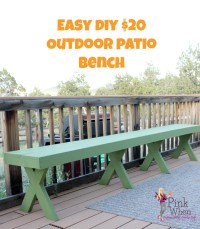 Cheap Outdoor Benches - Foter