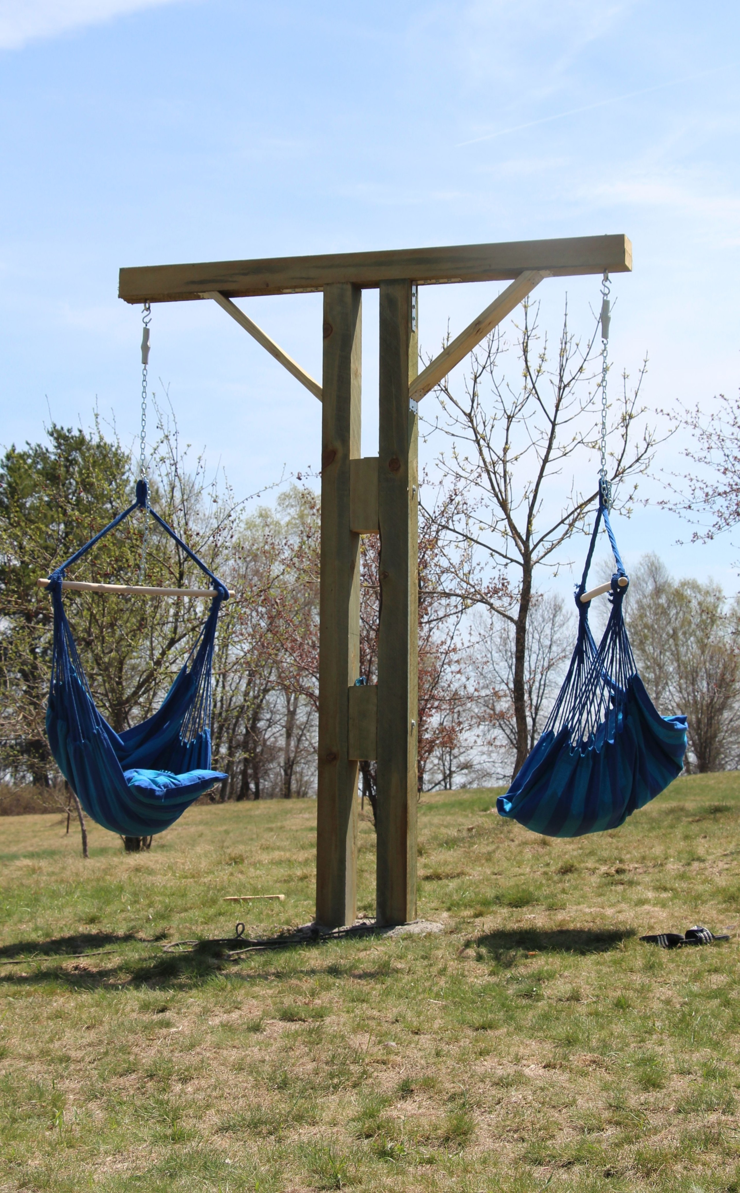 swing hammock chair with stand gaming ikea patio stands ideas on foter diy