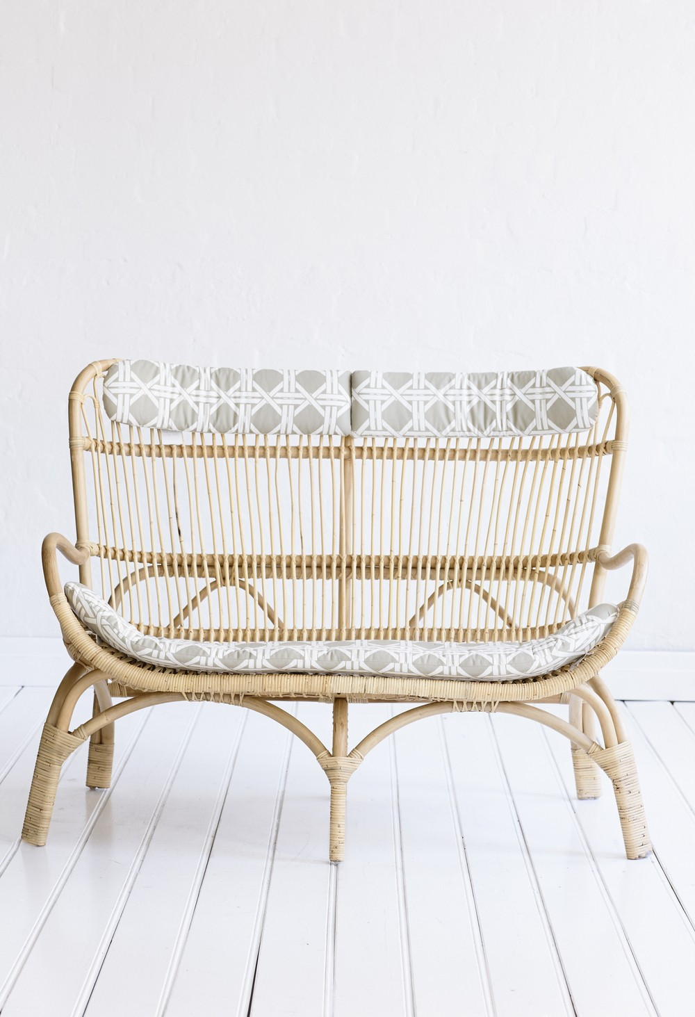 rattan benches ideas on foter