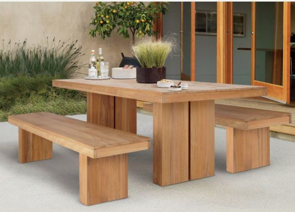 rustic outdoor chairs office for lower back support teak furniture ideas on foter