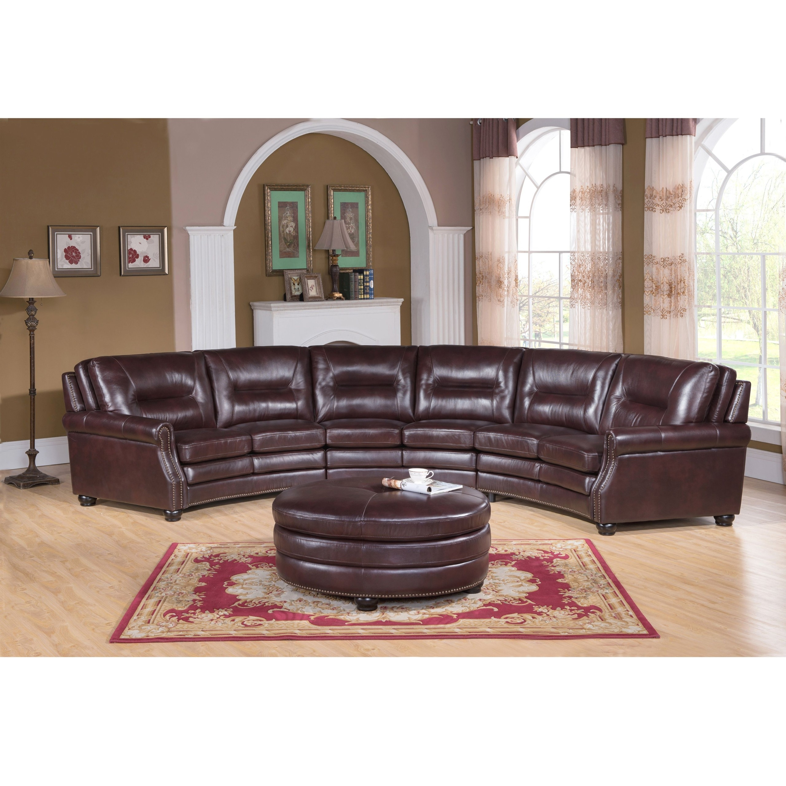 curved sectional sofa leather deep seat australia ideas on foter 3