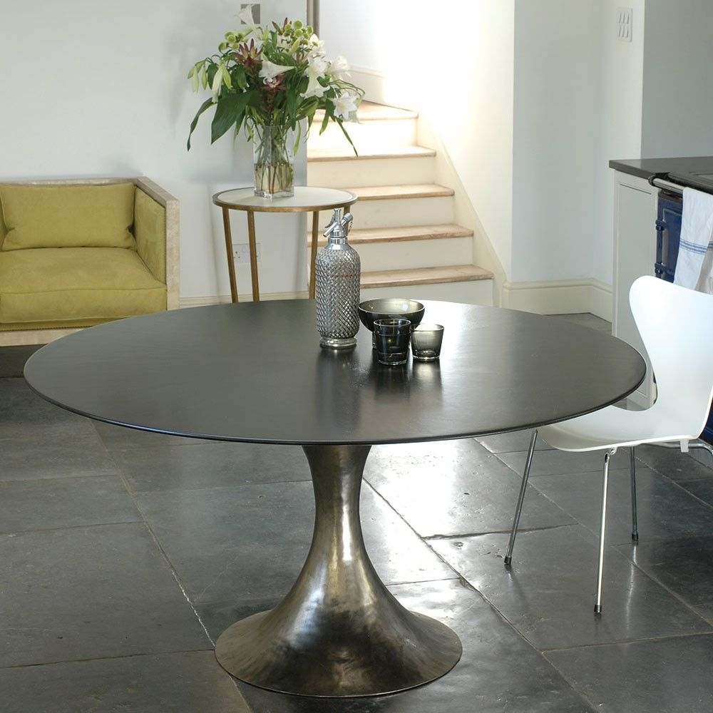 Contemporary Pedestal Dining Table  Foter