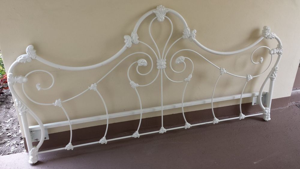 wrought iron headboards queen ideas