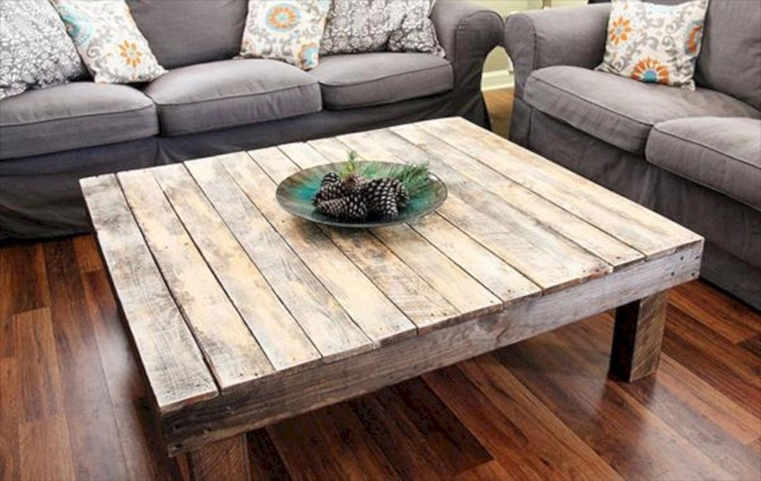 large square wood coffee table ideas