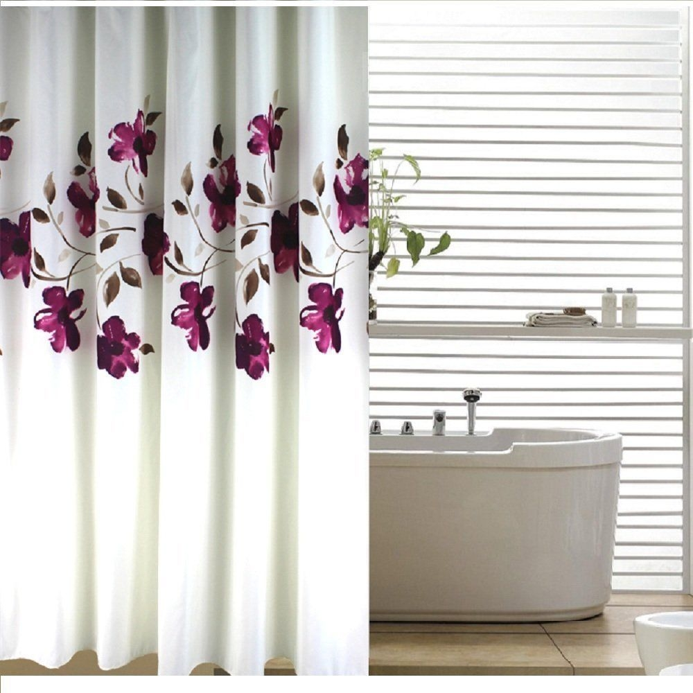Extra Long Fabric Shower Curtain Ideas On Foter