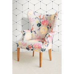 Floral Print Accent Chairs Fishing Chair Arm Covers Ideas On Foter