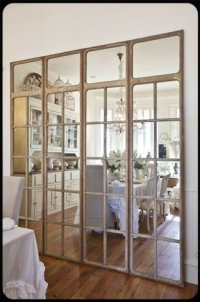 Mirror Room Dividers