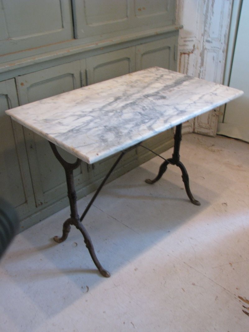 Small Marble Top Table