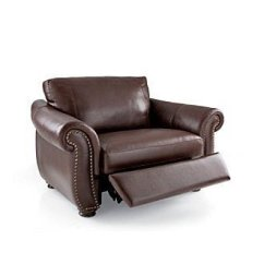 Reclining Chair And A Half Gaming With Pedestal Recliner Leather Ideas On Foter